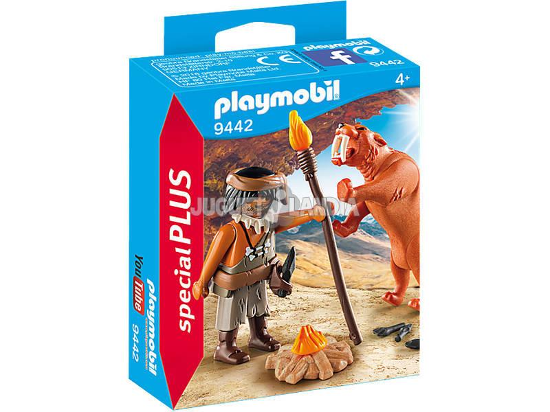 Playmobil Neardental con Tigre Dientes de Sable 9442