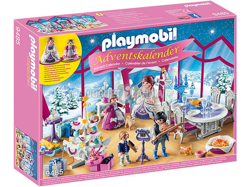 Playmobil Calendario De Adviento Baile de Navidad en el Salon de Cristal 9485