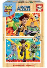 Puzzle 2x50 Toy Story 4 Educa 18084