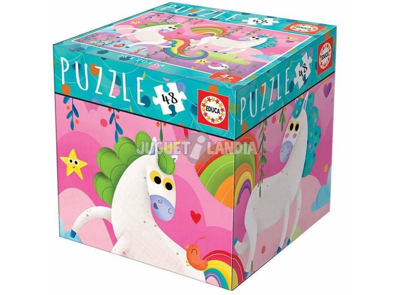Puzzle 48 Piezas Unicornios Educa 18074