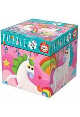 imagen Puzzle 48 Piezas Unicornios Educa 18074