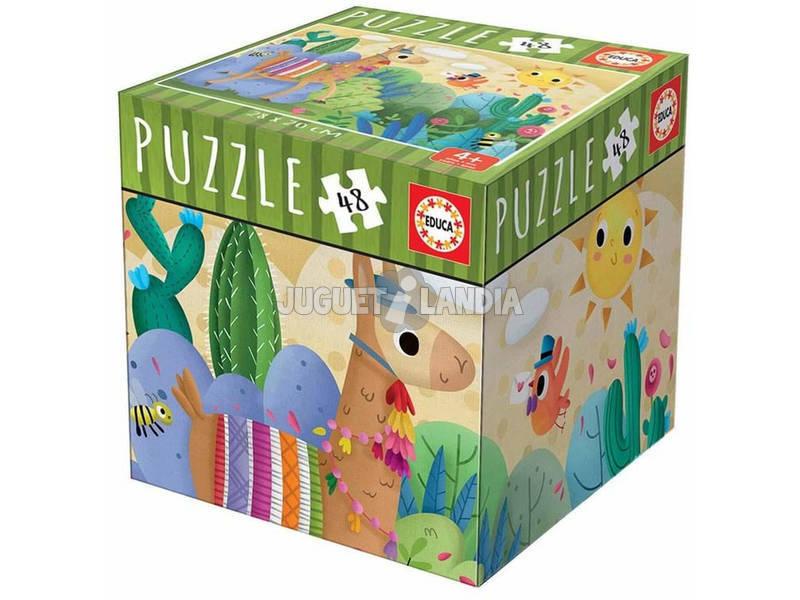 Puzzle 48 Peças Lama Educa 18075
