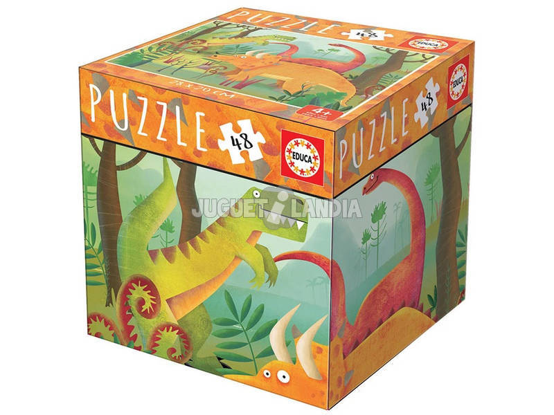 Puzzle 48 Piezas Dinosaurios Educa 18076