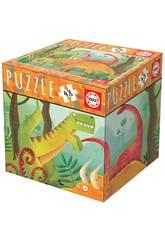 imagen Puzzle 48 Piezas Dinosaurios Educa 18076