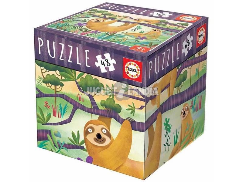 Puzzle 48 Piezas Perezosos Educa 18077