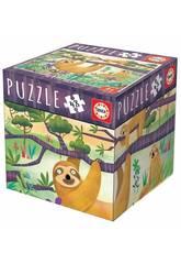 imagen Puzzle 48 Piezas Perezosos Educa 18077