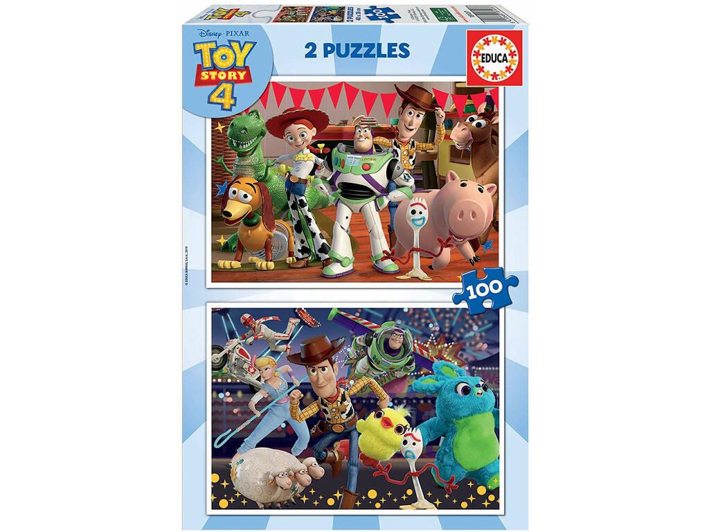 Puzzle 2x100 Toy Story 4 Educa 18107