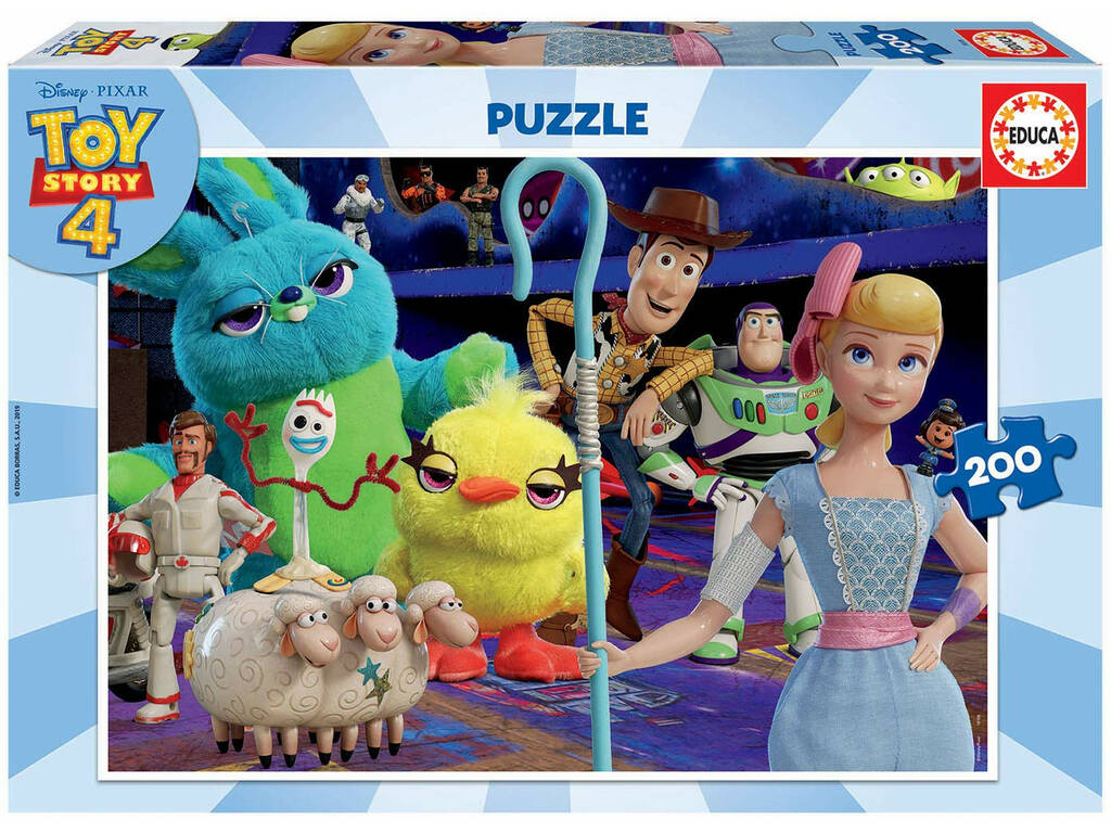 Puzzle 200 Toy Story 4 Educa 18108