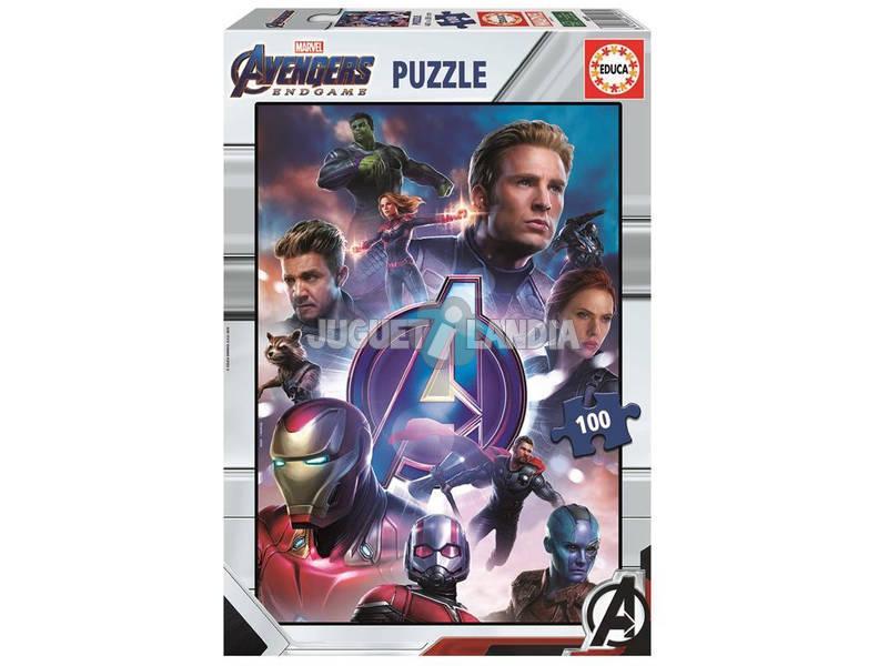 Puzzle 100 Avengers Endgame Educa 18097