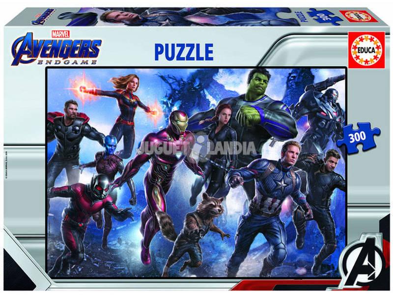 Puzzle 300 Avengers(Vingadores) Endgame Educa 18098