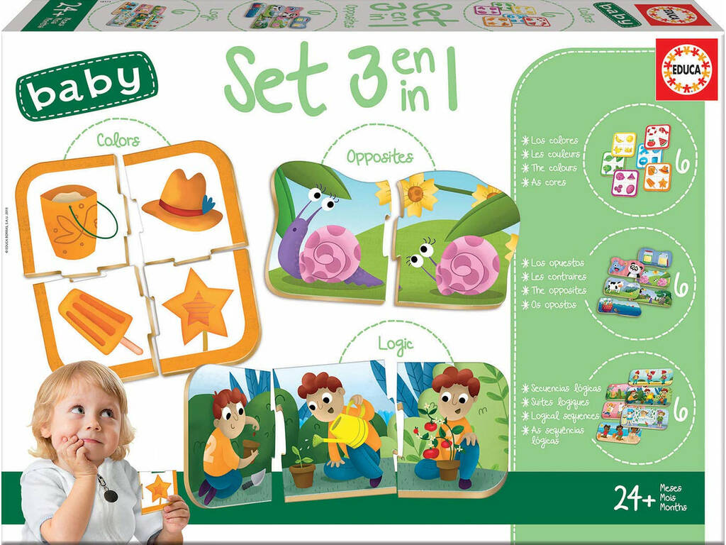 Set Baby 3 In 1 Educa 18123