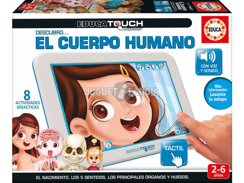 Educa Touch Junior Cuerpo Humano Educa 16990