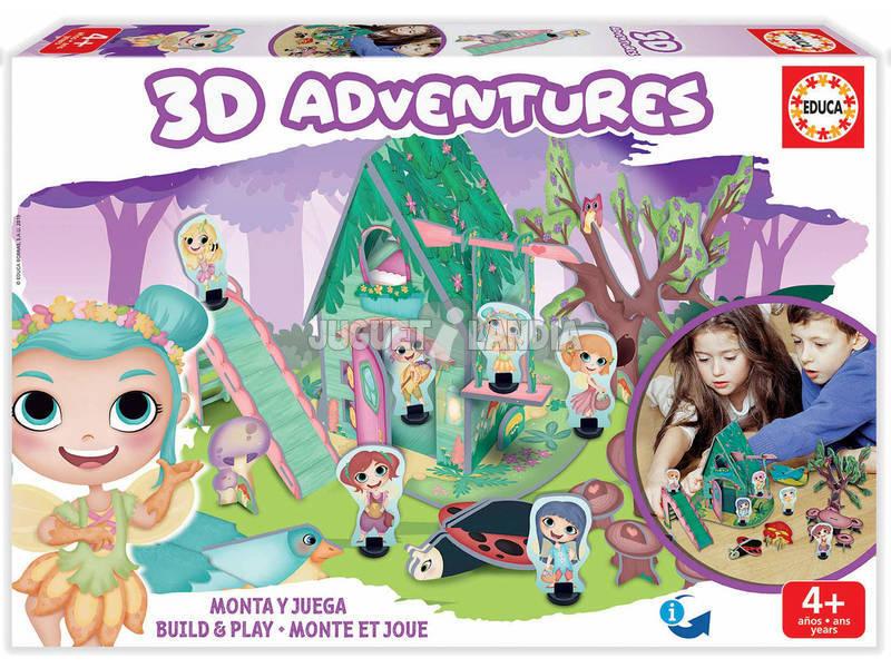 3D Aventures Fadas Educa 18229
