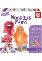 imagen Monsters Memo Educa 18126