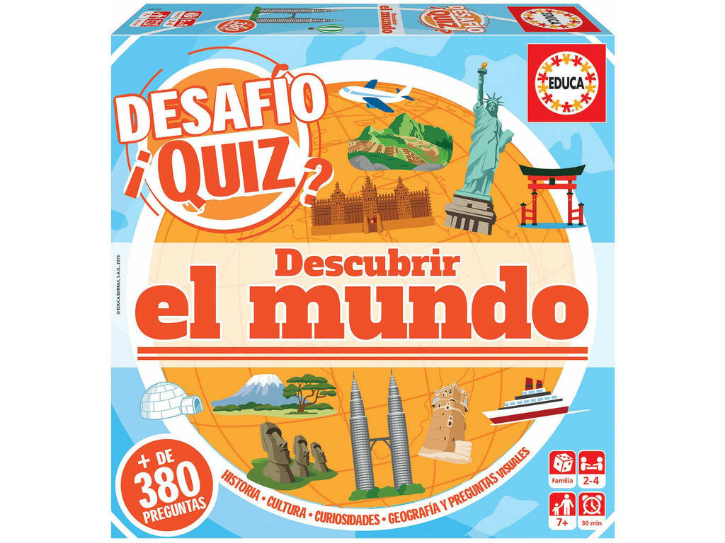 Desafio Quiz Descubrir O Mundo Educa 18218