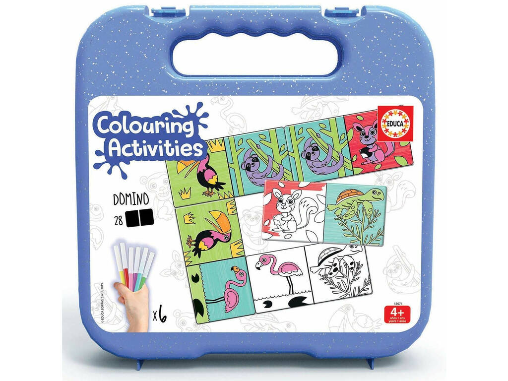 Valigetta Colouring Activities Domino Educa 18071