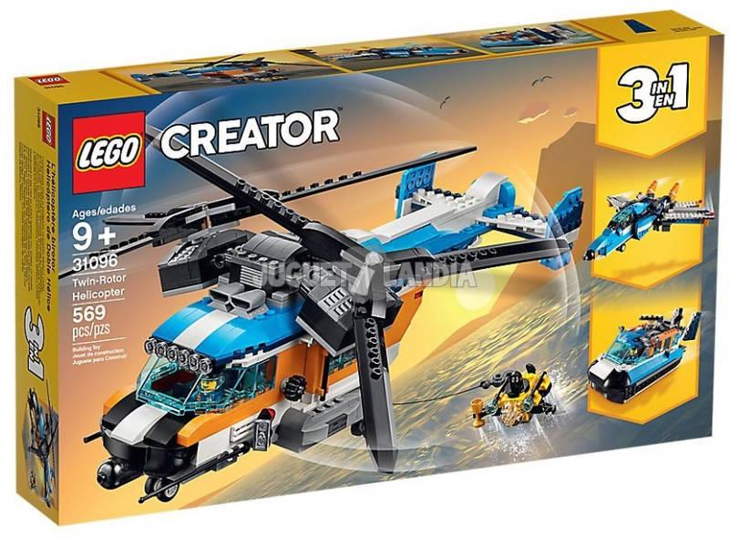 Lego Elicottero Bi-Rotore 31096