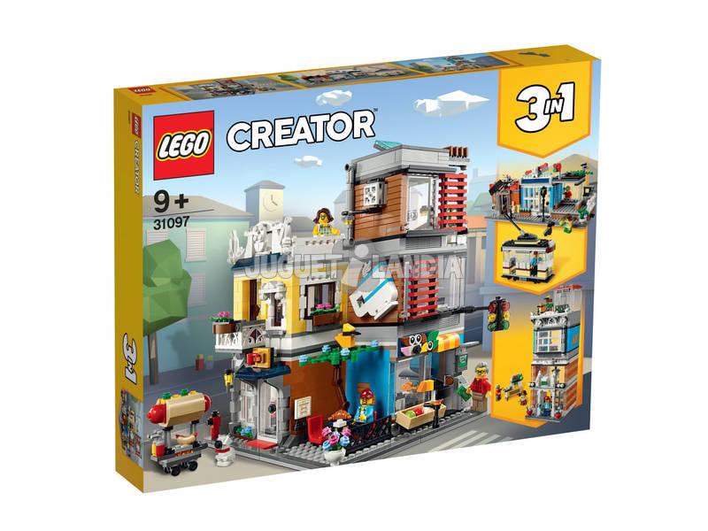 Lego Creator Tienda de Mascotas y Cafetería 31097