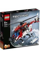 imagen Lego Technic 2 en 1 Helicóptero de Rescate 42092