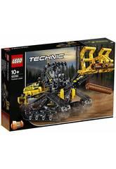 imagen Lego Technic 2 en 1 Cargadora de Orugas 42094