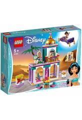 imagen Lego Princesas Aventuras en el Palacio de Aladdín y Jasmine 41161