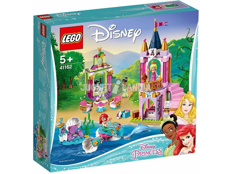 Lego Princesas Real Celebração de Ariel, Aurora e Tiana