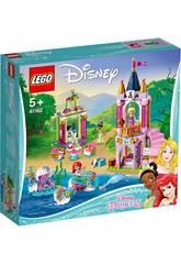 Lego Disney I Festeggiamenti reali di Ariel, Aurora e Tiana 41162