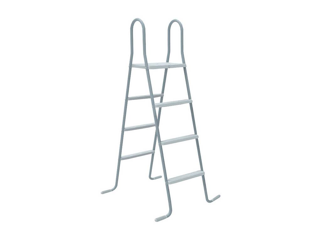 Escada com Plataforma Para Piscina Elevada de 120-130 cm Gre ET1213
