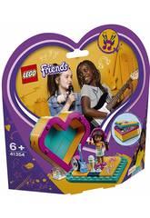 imagen Lego Friends Caja Corazón de Andrea 41354