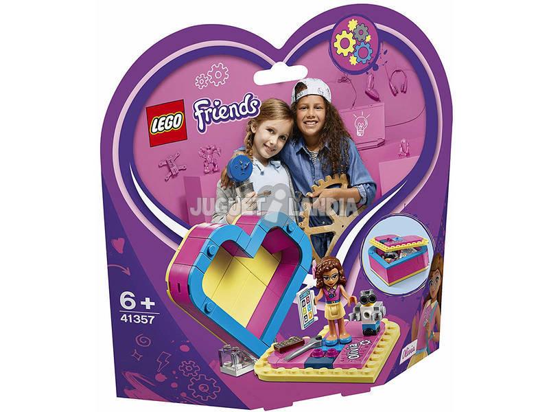 Lego Friends Caja Corazón de Olivia 41357