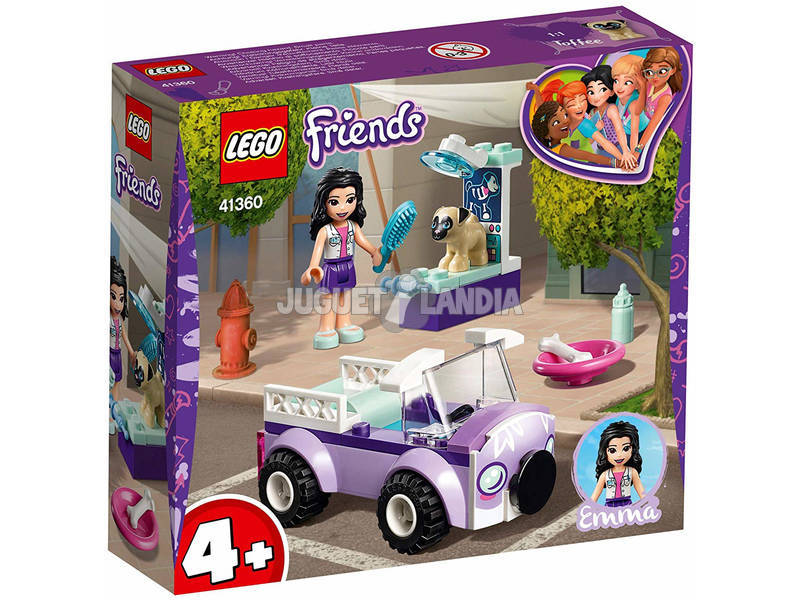 Lego Friends Clínica Veterinaria Móvil de Emma 41360