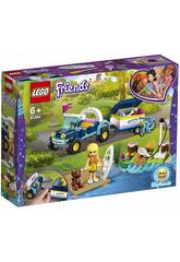 imagen Lego Friends Buggy y Remolque de Stephanie 41364