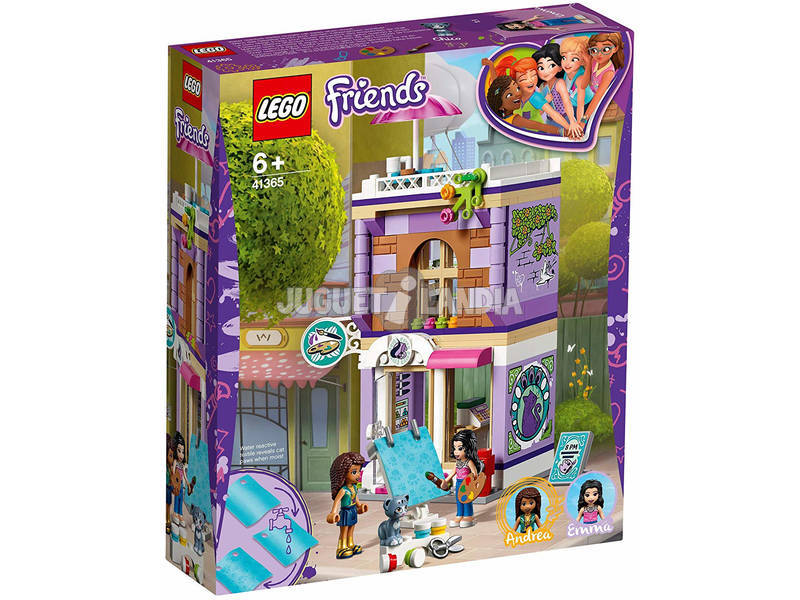 Lego Friends Studio Artistique de Emma 41365