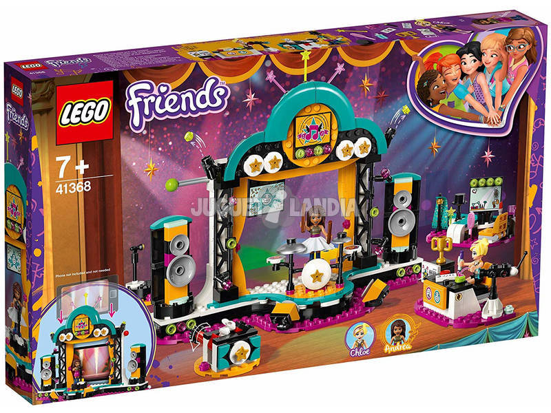 Lego Friends Spectacle de Talents de Andrea 41368