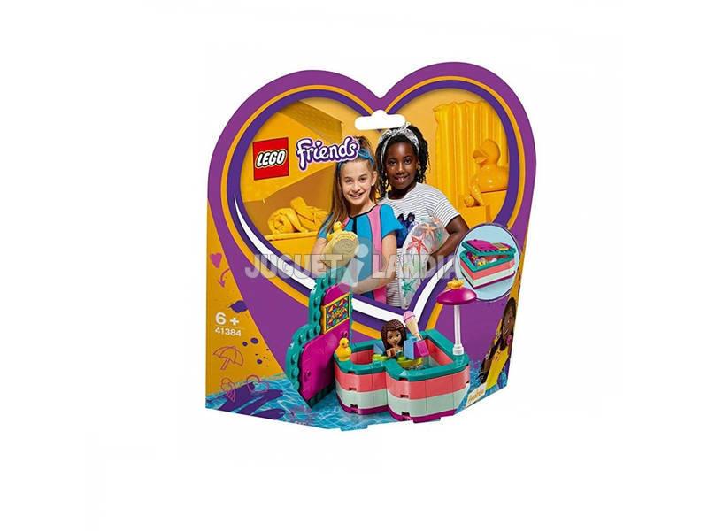 Lego Friends Caja Corazón de Verano de Andrea 41384
