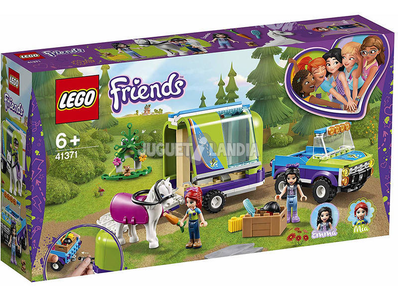 Lego Friends Trailer do Cavalo de Mía 41371