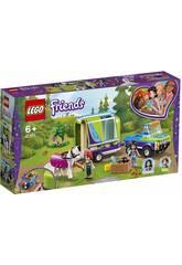 Lego Il rimorchio dei cavalli di Mia 41371