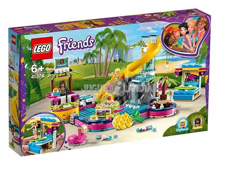 Lego Friends Fiesta en la Piscina de Andrea 41374