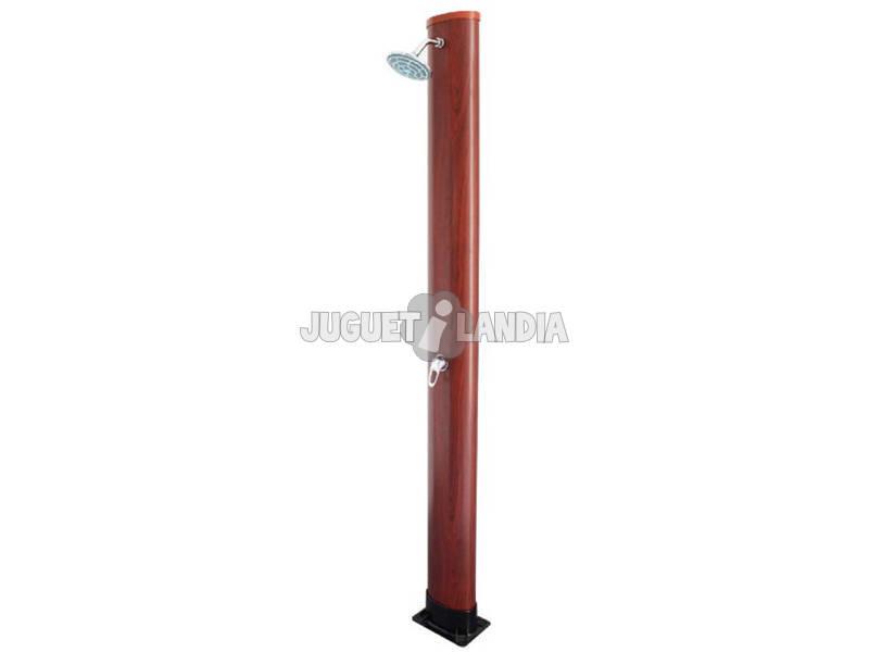 Ducha Solar PVC Aspecto Madera 35 L Gre AR1035W