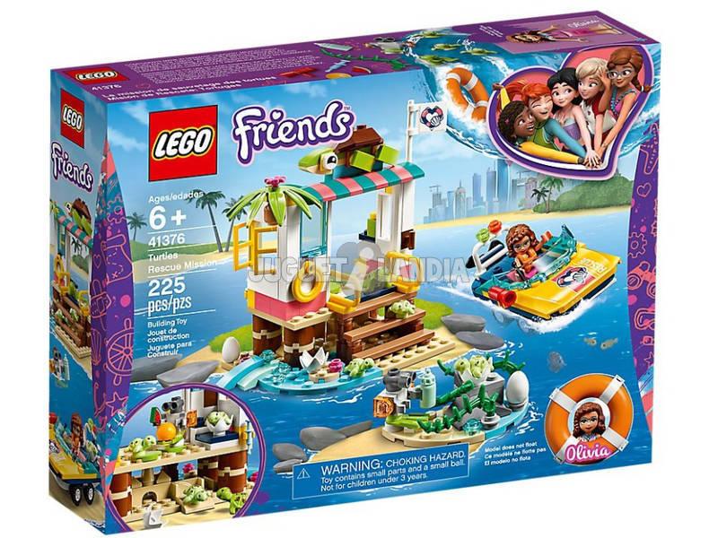Lego Friends Mission de Sauvetage Tortues 41376