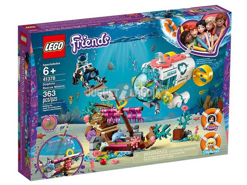 Lego Friends Missão de Resgate Golfinhos 41378