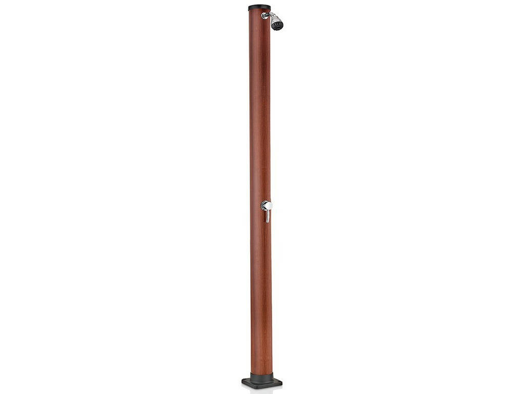 Doccia Solare PVC Imitazione Legno 20 L Gre AR1020W