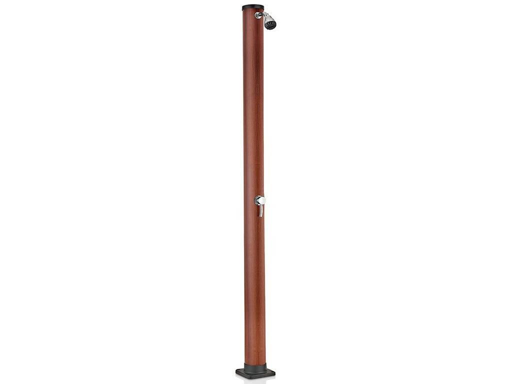 Ducha Solar PVC Aspecto Madera 20 L Gre AR1020W