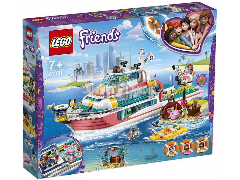 Lego Friends Barco de Rescate 41381