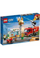 Lego City Fiamme al Burger Bar 60124