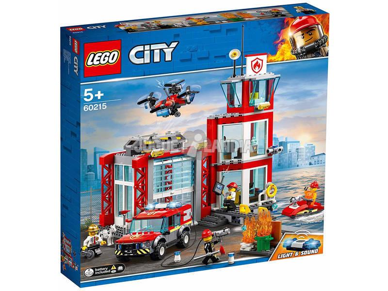 Lego City Fire Parque de Bomberos 60215