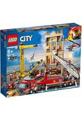 Lego City Fire Brigada de Bomberos del Distrito Centro 60216