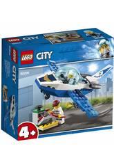 imagen Lego City Policía Aérea Jet Patrulla 60206