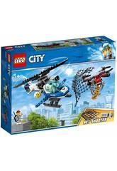 Lego City Polícia Aérea Perseguição de Drone 60207