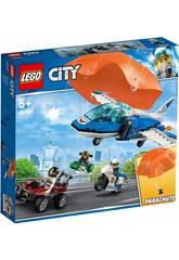imagen Lego City Policía Aérea Arresto del Ladrón Paracaidista 60208